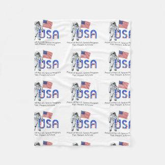TEE U.S. Space Program Fleece Blanket