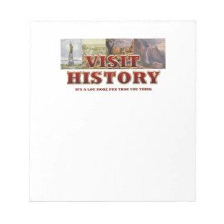 TEE Visit History Notepad