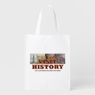 TEE Visit History Reusable Grocery Bag