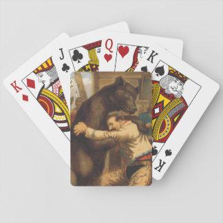 TEE Wild West Wrestling Poker Deck