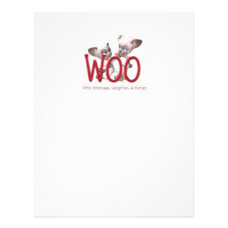 TEE Woo 21.5 Cm X 28 Cm Flyer