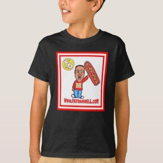 Tee-Youth FD1 logo (black) T-Shirt