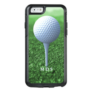 Teeing Off Golfer's Green Personalized OtterBox iPhone 6/6s Case