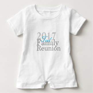 Teel family Reunion 2017 Infant romper Baby Bodysuit