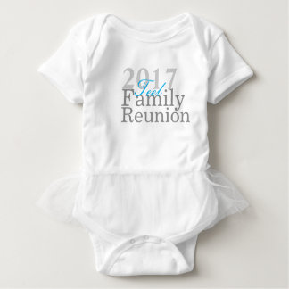 Teel family Reunion 2017 Infant shirt with lace