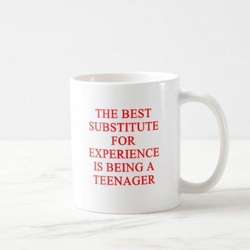 TEEN ager joke Mug