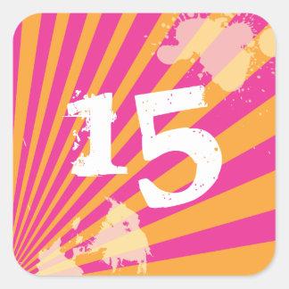 Teen Birthday Party Favor Sticker | Envelope Seal