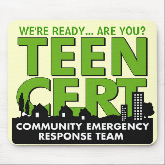 Teen CERT Mousepad