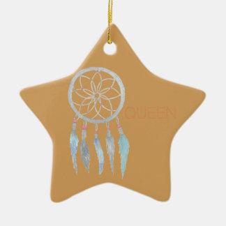 Teen Dreamcatcher Ceramic Ornament
