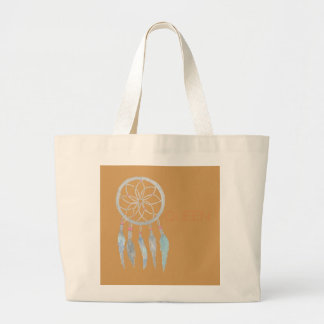 Teen Dreamcatcher Large Tote Bag
