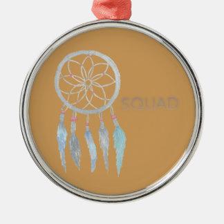 Teen Dreamcatcher Metal Ornament