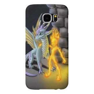 """Teen Element: Fuego"" Samsung Galaxy S6 Cases"