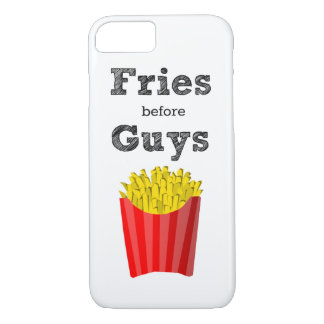 Teen Fries Before Guys iPhone Case