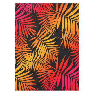 Teen Girls Women's Decor Tropical Palm Tree Leaf Tablecloth