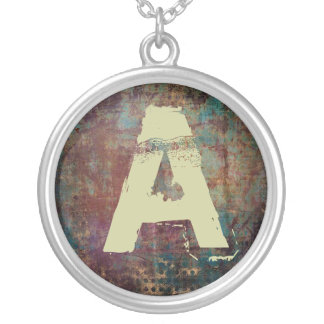 teen male initial necklace