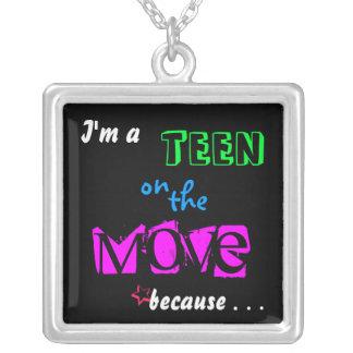 Teen On The Move Pendants