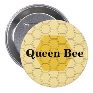 Teen Queen Bee Honeycomb Customized Pin