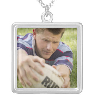 Teen scores try. silver plated necklace