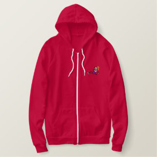 Teen She-devil Embroidered Hoodie