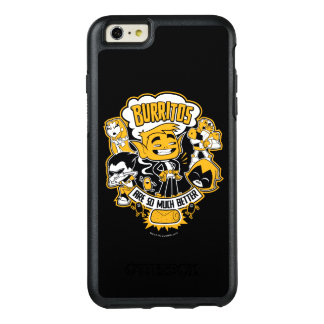 "Teen Titans Go! | Beast Boy ""Burritos Are Better"" OtterBox iPhone 6/6s Plus Case"