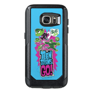 Teen Titans Go!   Beast Boy Shapeshifts OtterBox Samsung Galaxy S7 Case