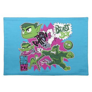 Teen Titans Go! | Beast Boy Shapeshifts Placemat