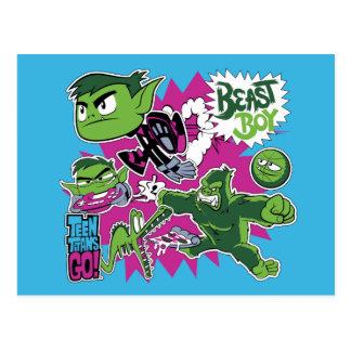 Teen Titans Go! | Beast Boy Shapeshifts Postcard