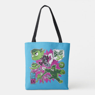 Teen Titans Go! | Beast Boy Shapeshifts Tote Bag