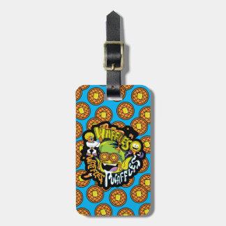 Teen Titans Go!   Beast Boy Waffles Luggage Tag
