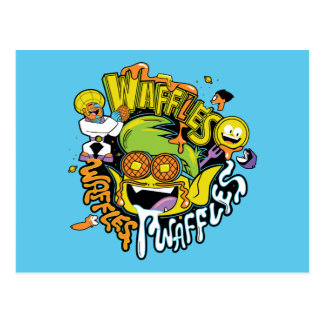 Teen Titans Go!   Beast Boy Waffles Postcard