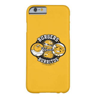 Teen Titans Go! | Burgers Versus Burritos Barely There iPhone 6 Case