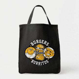 Teen Titans Go! | Burgers Versus Burritos Tote Bag