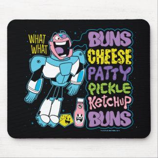 Teen Titans Go! | Cyborg Burger Rap Mouse Pad