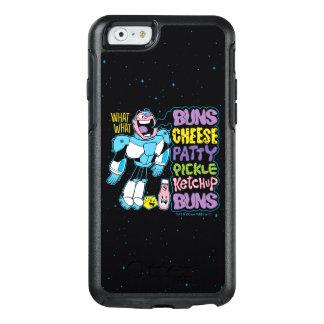 Teen Titans Go! | Cyborg Burger Rap OtterBox iPhone 6/6s Case