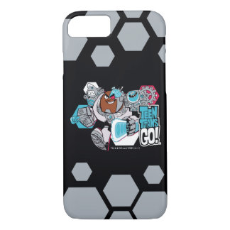Teen Titans Go! | Cyborg's Arsenal Graphic iPhone 8/7 Case