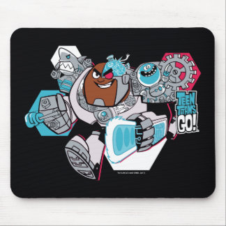 Teen Titans Go! | Cyborg's Arsenal Graphic Mouse Pad