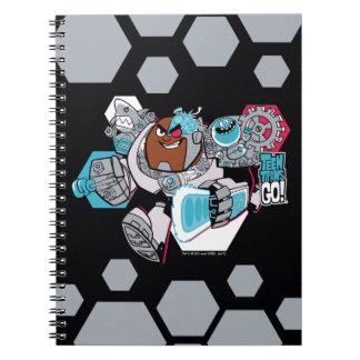 Teen Titans Go!   Cyborg's Arsenal Graphic Notebooks