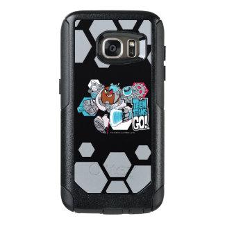 Teen Titans Go! | Cyborg's Arsenal Graphic OtterBox Samsung Galaxy S7 Case