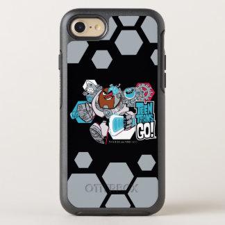 Teen Titans Go! | Cyborg's Arsenal Graphic OtterBox Symmetry iPhone 8/7 Case