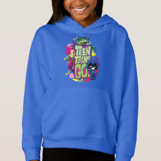 "Teen Titans Go! | ""Girls Girls"" Animal Print Logo"