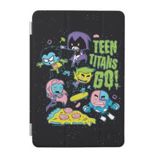 Teen Titans Go! | Gnarly 90's Pizza Graphic iPad Mini Cover