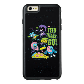 Teen Titans Go! | Gnarly 90's Pizza Graphic OtterBox iPhone 6/6s Plus Case