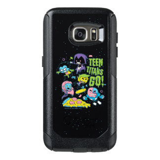 Teen Titans Go! | Gnarly 90's Pizza Graphic OtterBox Samsung Galaxy S7 Case