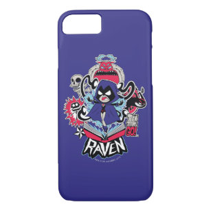 Teen Titans Go! | Raven Demonic Powers Graphic Case-Mate iPhone Case