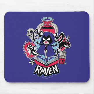 Teen Titans Go! | Raven Demonic Powers Graphic Mouse Pad