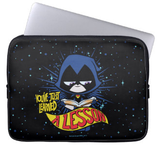 "Teen Titans Go! | Raven ""Learned A Lesson"" Laptop Sleeve"