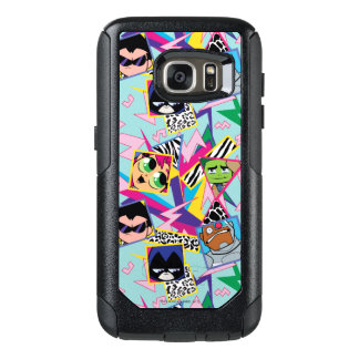 Teen Titans Go!   Retro 90's Group Collage OtterBox Samsung Galaxy S7 Case