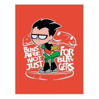 Teen Titans Go! | Robin Booty Scooty Buns Postcard