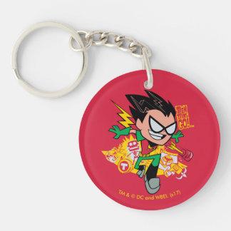 Teen Titans Go! | Robin's Arsenal Graphic Key Ring