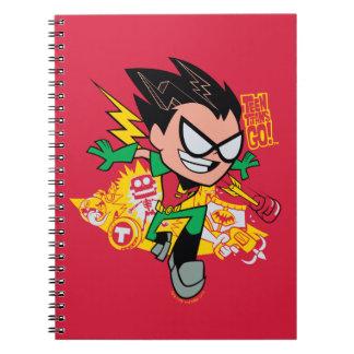 Teen Titans Go!   Robin's Arsenal Graphic Notebook